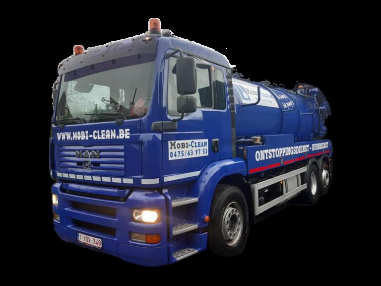 Mobi-Clean vrachtwagen